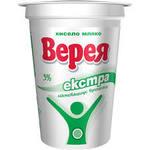 Кисело мляко Верея екстра 3% 400гр